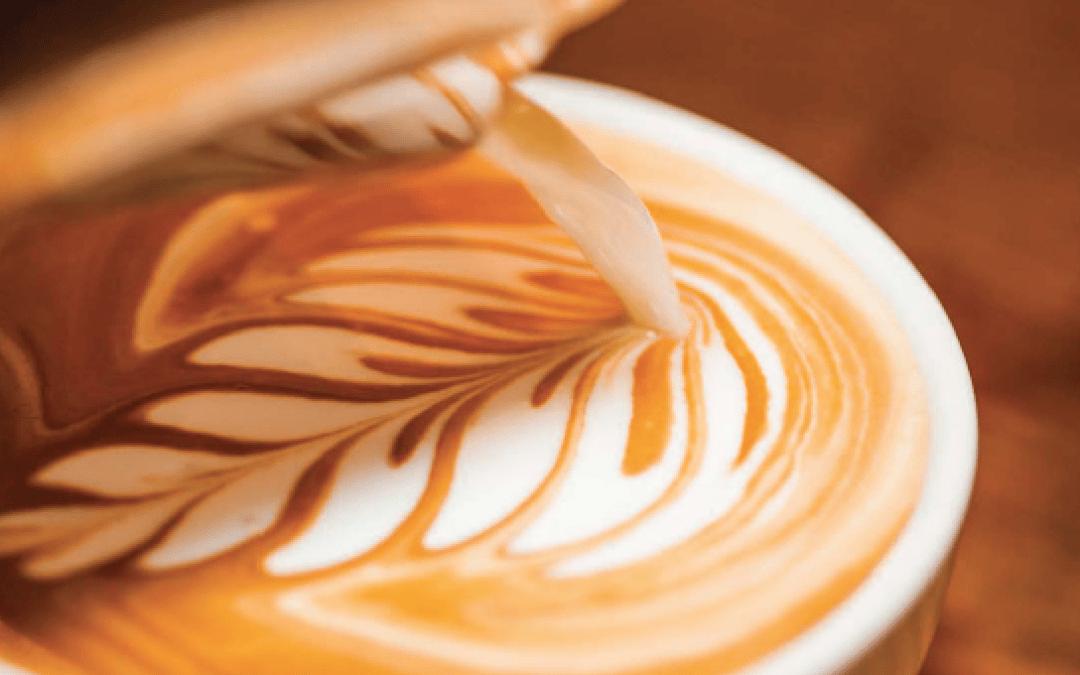 Arte Latte. Como hacer dibujos en el café